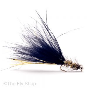 black and gold humongous is adeadly lure for brown trout and rainbow trout