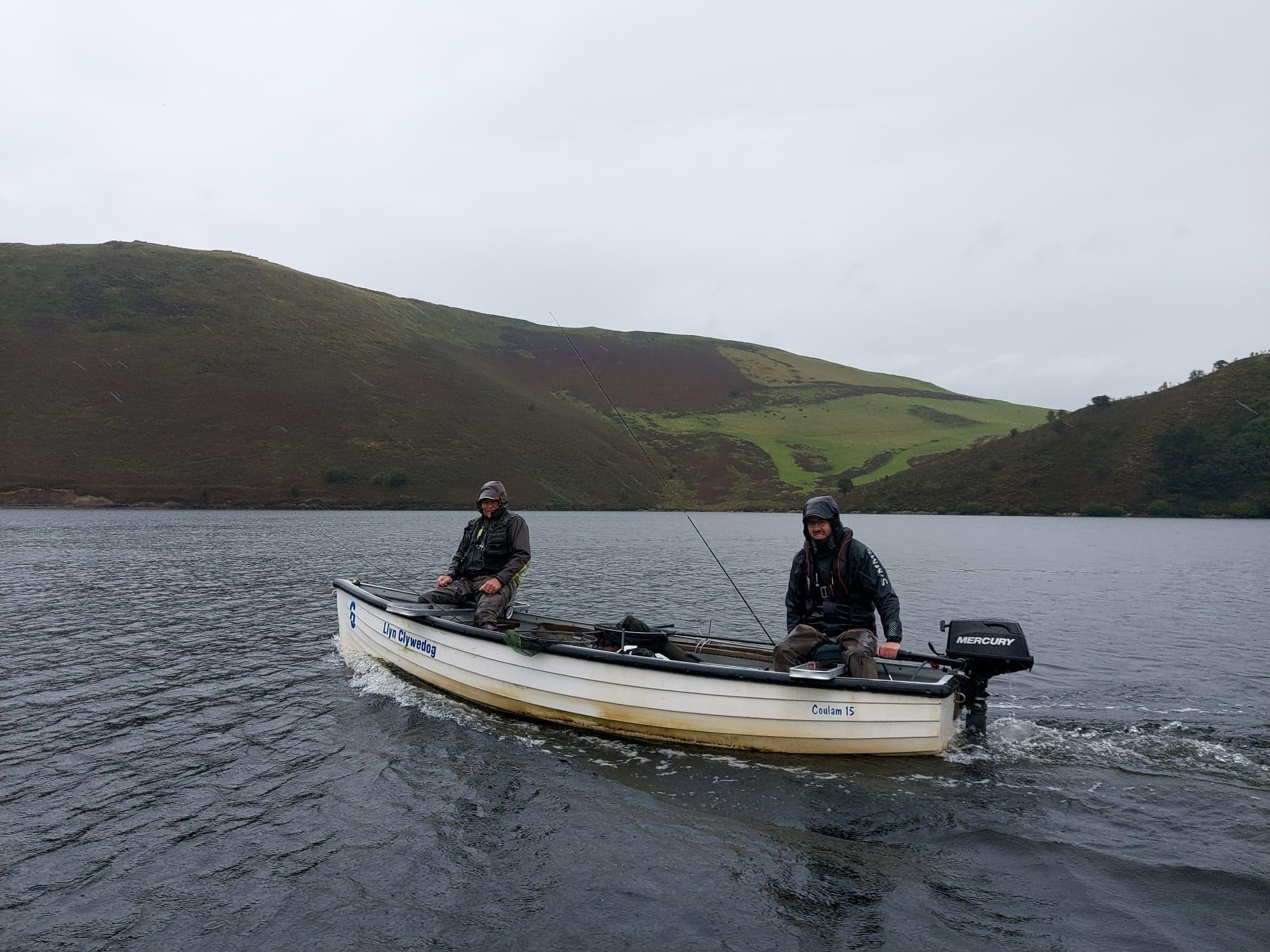 Llyn Cywedog trout fishing
