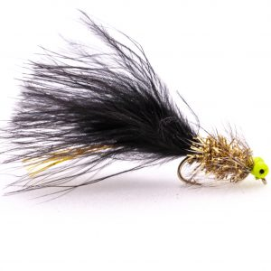 New deadly Green eyed Black and Gold Humongous lure