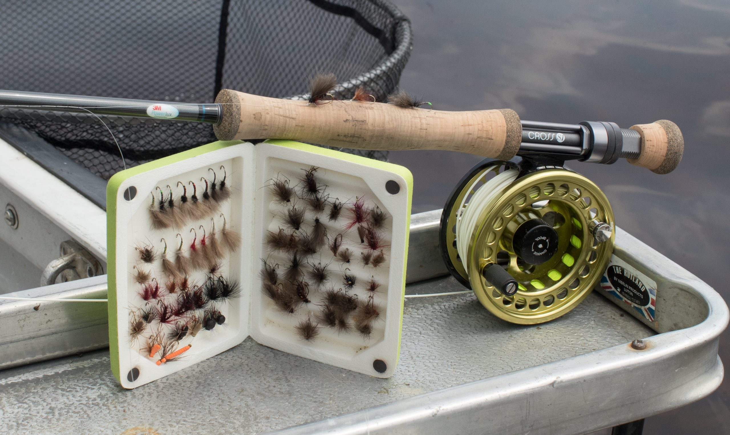Top dry flies for llyn brenig and the Loop 7 x fly rod