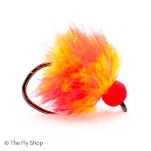 The egg range of flies really are deadly. The look changes completely when wet and the fish find these flies absolutely irresistible. Mostly fished static under an indicator but can also work well fished on the point as part of a team of buzzers.