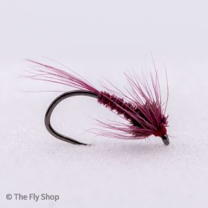 The Barbless Claret Cruncher is a great and subtle imitative suggestive pattern that really works well when the trout are proving tricky. This was originally used on Chew Valley but has since worked on all still waters. Works best in clear water and the best way to fish it is on a floating or midge tip line with a slow figure of 8.