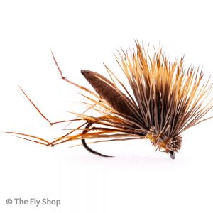 The Brown Hog Daddy is a great fly when there is a good ripple. This fly is great for fishing blind and seems to be able to pull the fish up to it. Also very good for fishing the washing line style using the hog daddy instead of a booby.