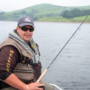 Head ranger Gazza Dixon at Llyn Clywedog