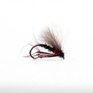 Bibio Heather Fly is a great dry fly that works well all season. It has a really nice profile and was originally designed to imitate the Heather Fly at Llyn Brenig. Since then it has been a proven top dry fly all over the UK it is also particularly effective on the wild brown trout lakes and lochs.