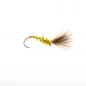 A great little olive dry fly that's at its best when olives are hatching off the water. A great fly for small waters in the summer evenings. It has been proven on the large reservoirs accounting for some large trout.