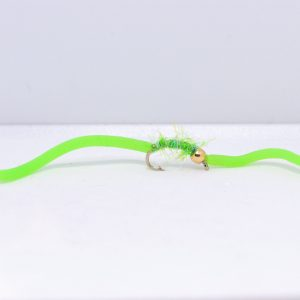 lime uv squirmy worm scaled