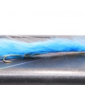 blue snake scaled